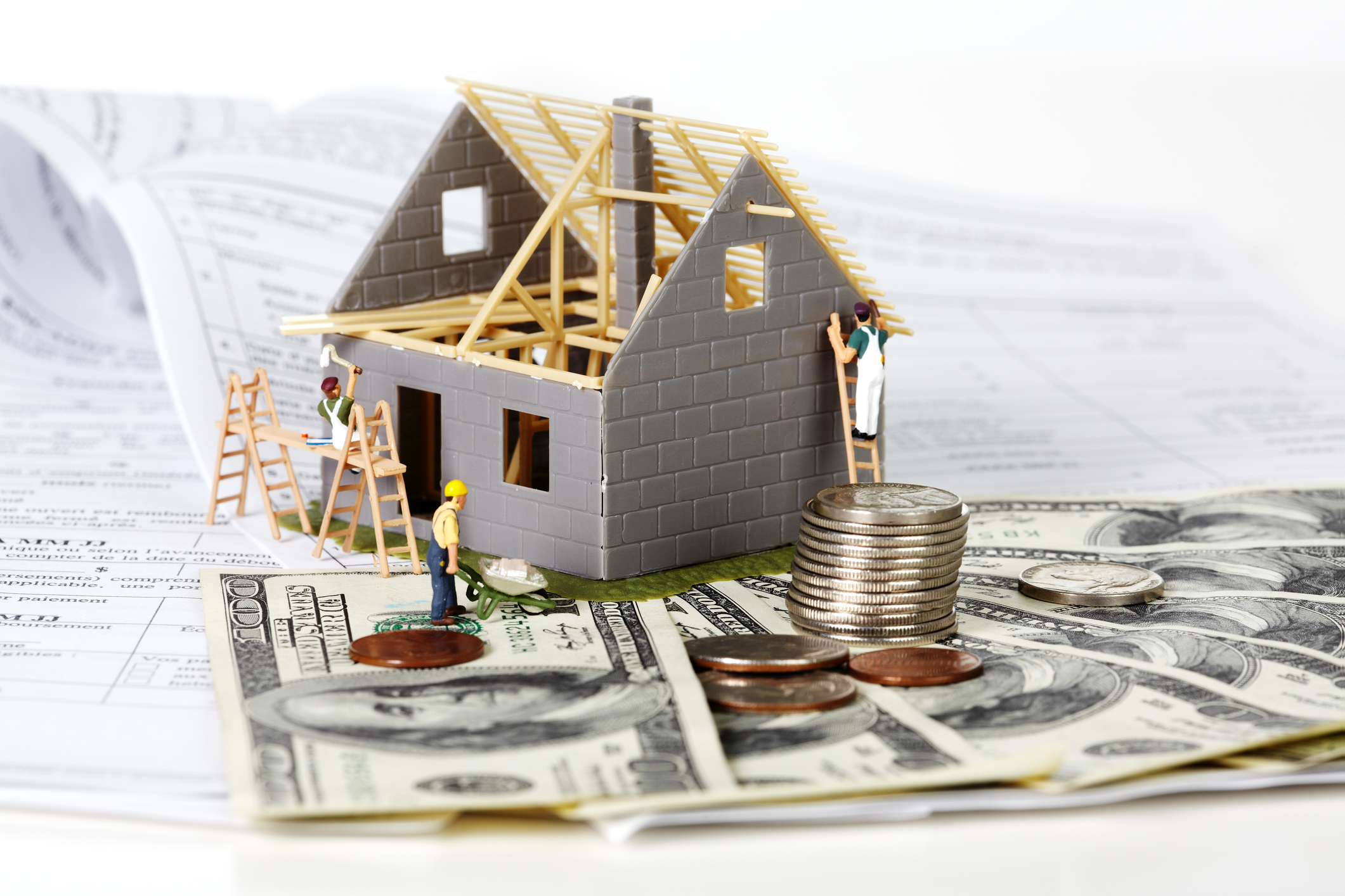 Tips to help you remodel your home and save money cdi for How to finance building a new home